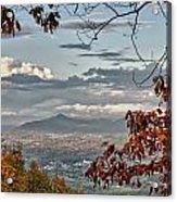 Fall View From Roanoke Mountain Acrylic Print