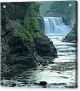 Falling Into The Genesee Acrylic Print