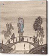 Falling... Acrylic Print by Robert Meszaros