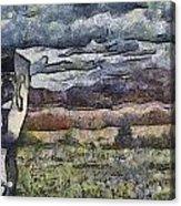 Falling Skies Acrylic Print