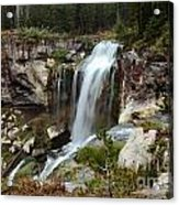 Falls At Newberry Acrylic Print