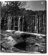 Falls At Yates Mill Acrylic Print