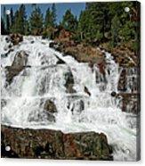 Falls Glen Alpine Falls Tahoe Acrylic Print