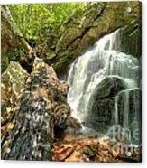 Falls Through The Rocks Acrylic Print