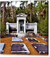 Family Plot Acrylic Print