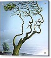 Family Tree, Conceptual Artwork Acrylic Print by Smetek
