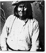 Famous Apache Leader, Geronimo Acrylic Print by Everett