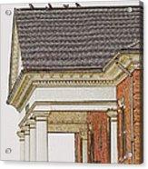 Fancy Arcitecture Acrylic Print