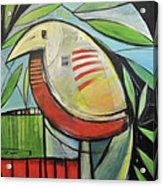 Fancy Bird Acrylic Print