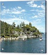 Fannette Island Boat Party Acrylic Print