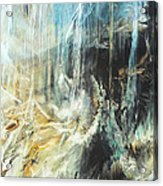 Fantasy Storm Acrylic Print by Linda Sannuti