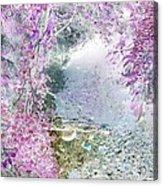 Fantasy Woodland Pond Acrylic Print
