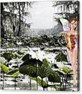 Fantasy Woods Acrylic Print