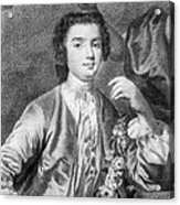 Farinelli (1705-1782) Acrylic Print