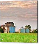Farm Buildings Acrylic Print