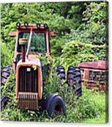 Farm Equipment Acrylic Print