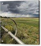 Farm Irrigation Sprinklers Next Acrylic Print