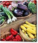 Farmers Market Summer Bounty Acrylic Print