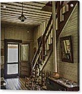 Farmhouse Entry Hall And Stairs Acrylic Print by Lynn Palmer