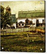 Farmland In Intercourse - Pennsylvania Acrylic Print