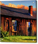 Farrier's Shed Acrylic Print