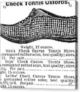 Fashion: Sneakers, 1895 Acrylic Print by Granger