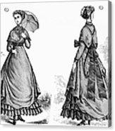 Fashion: Women, 1868 Acrylic Print
