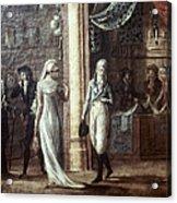 Fashionable Parisians, 1799 Acrylic Print