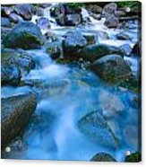 Fast-flowing River Acrylic Print
