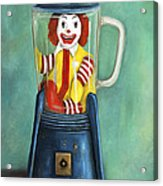 Fast Food Nightmare 2 The Happy Meal Acrylic Print