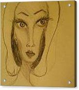 Fawny Eyes Acrylic Print