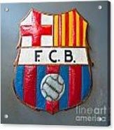 Fc Barcelona Symbol Acrylic Print