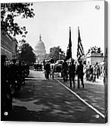 Fdr: Funeral, 1945 Acrylic Print