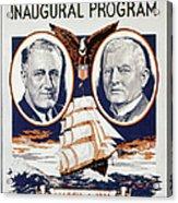 Fdr: Inauguration, 1933 Acrylic Print
