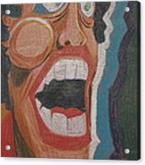 Fear Acrylic Print