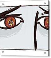 Fearful Eyes, Artwork Acrylic Print