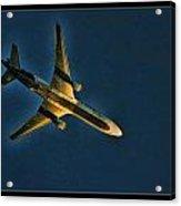Fedex Plane Acrylic Print