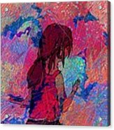 Feeling The Colors Acrylic Print