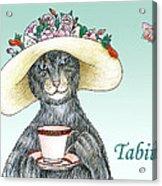 Feline Finery - Tabitha Acrylic Print