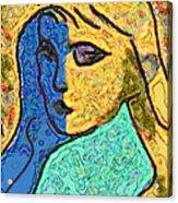 Feminine Kaleidoscope Acrylic Print
