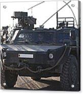Fennek Armored Reconnaissancd Vehicles Acrylic Print