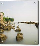 Feringghi Beach Acrylic Print
