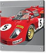 Ferrari 512  S Acrylic Print