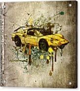 Ferrari Dino 246 Gts Acrylic Print