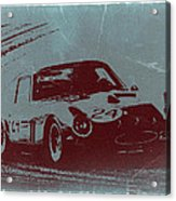Ferrari Gto Acrylic Print by Naxart Studio
