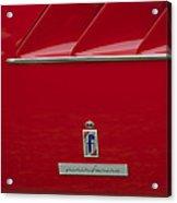 Ferrari Pininfarina Emblem 3 Acrylic Print