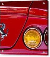Ferrari Taillight Emblem 2 Acrylic Print