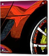 Ferrari Wheel Detail Acrylic Print