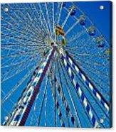 Ferris Wheel - Nuremberg  Acrylic Print by Juergen Weiss