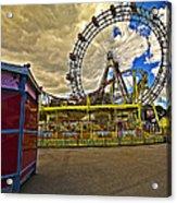 Ferris Wheel - Vienna Acrylic Print